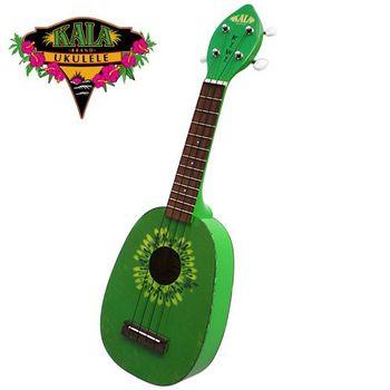 買一送一【KALA】美國烏克麗麗大廠'21吋'奇異果造型烏克麗麗 (KIWI)'加送調音器'