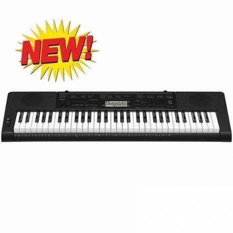 【CASIO 卡西歐】標準61鍵手提電子琴+琴椅 台灣公司貨 (CTK-3200)