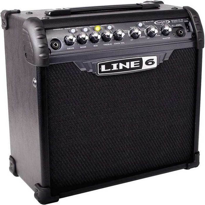 【Line6】Spider IV15 知名品牌15瓦電吉他專用音箱 LINE6 音箱居家練習必備