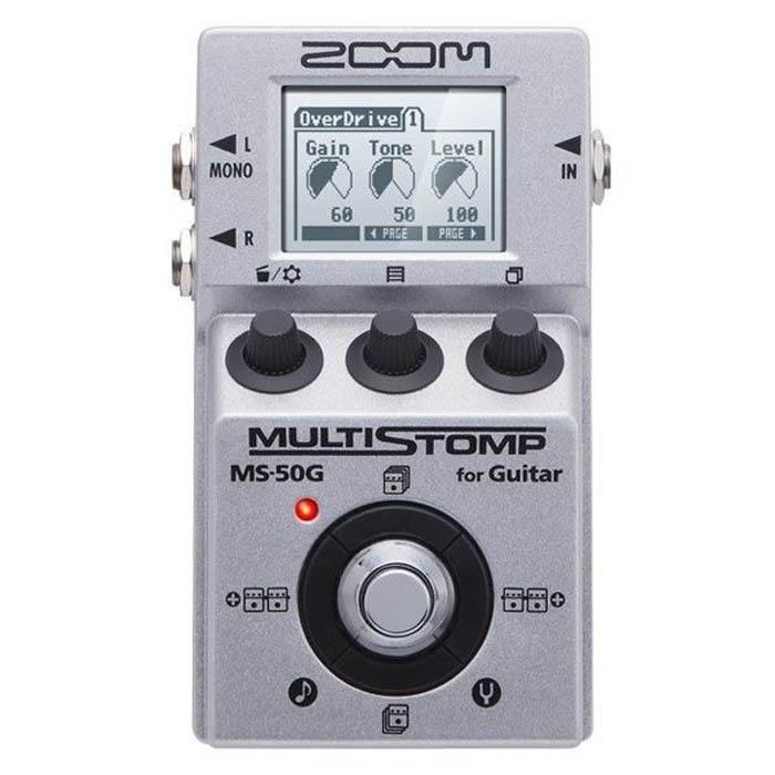 【ZOOM】MS-50G 電吉他單顆型綜合效果器(MS50G)'原廠公司貨'
