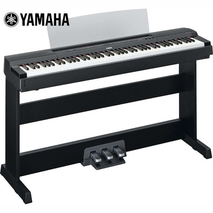 【YAMAHA】山葉 P-255 日本製數位鋼琴/電鋼琴(P255)'日本原裝進口''2014全新品典雅黑色'
