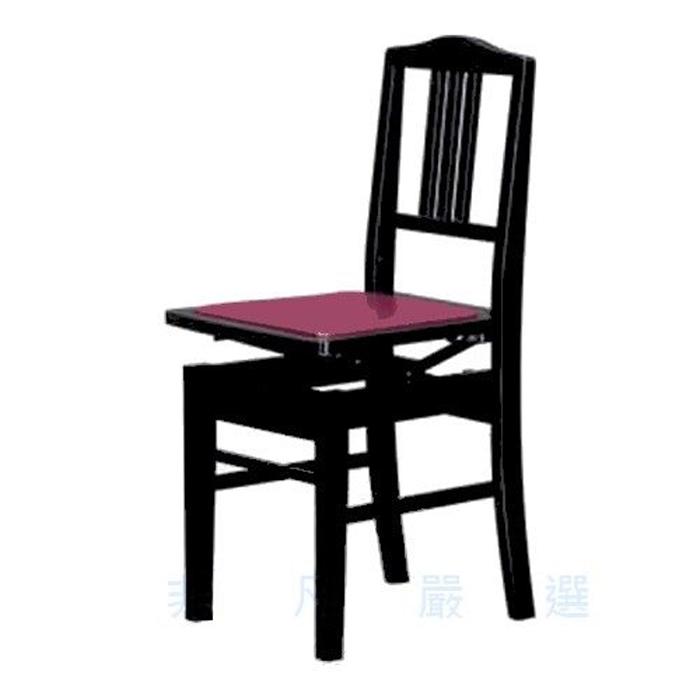 【精選】台製高品質 鋼琴靠背升降椅