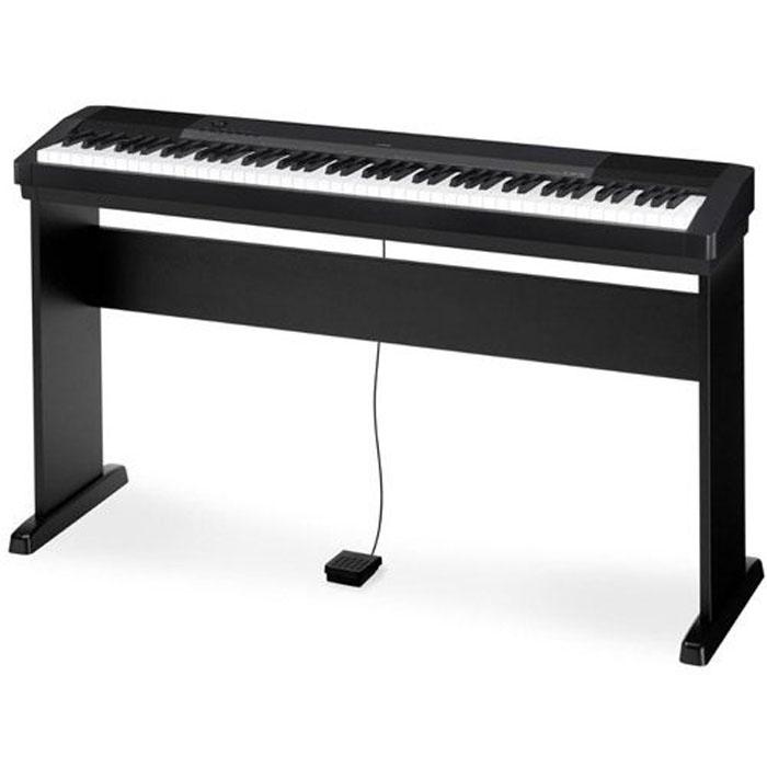 【CASIO】卡西歐 CDP-130 88鍵數位鋼琴/電鋼琴『黑色』(CDP130BK)原廠保固一年 附贈原廠琴架