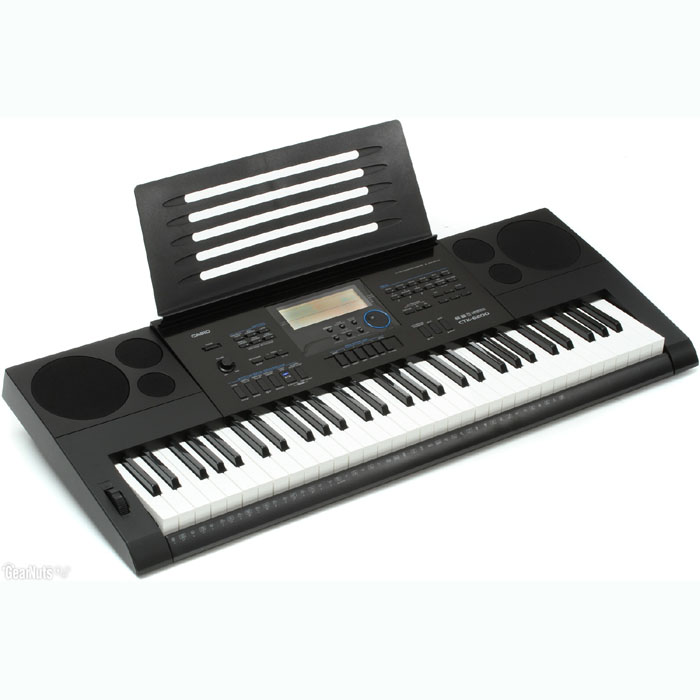 【CASIO  卡西歐】標準61鍵高階電子琴-公司貨保固(CTK-6200)