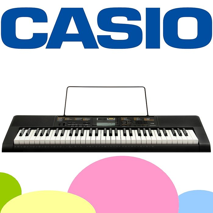【CASIO 卡西歐】新款標準61鍵電子琴含琴架 公司貨保固 (CTK-2400)