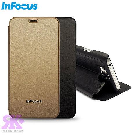 公司貨【InFocus原廠】M530原廠璀璨羽絲紋可立式皮套-贈保護貼-手機平板配件-myfone購物