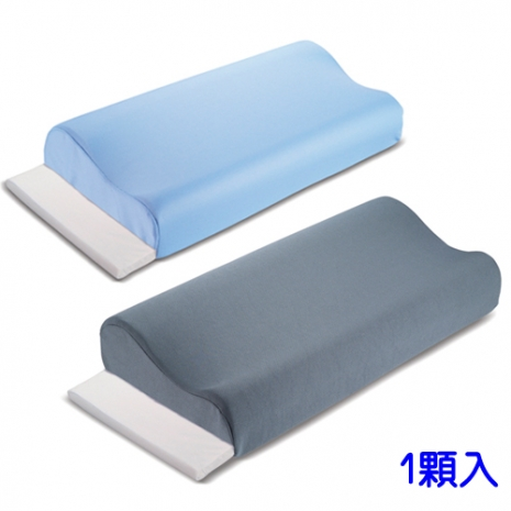 1入-貴族級備長炭減壓活力安眠枕-藍灰任選灰色