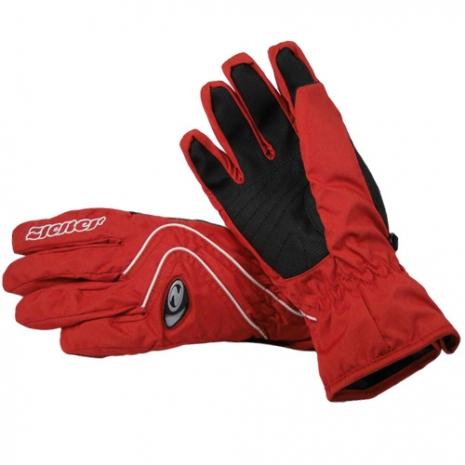 德國名牌【ZIENER】GORE-TEX防水防寒專業運動手套 - 紅(L)