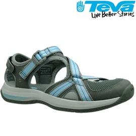 TEVA 《女款》護趾水陸機能運動鞋Ewaso - 灰-服飾‧鞋包‧內著‧手錶-myfone購物