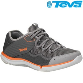【TEVA】超輕量舒適都會型水陸兩棲便鞋Refugio(2色)海鷗灰9