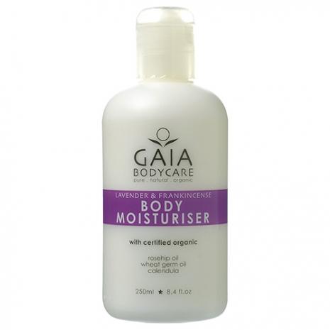 GAIA蓋雅 Body Moisturiser-Lavender&Frankincenes 薰衣草清新保濕乳 250ml