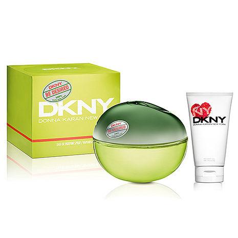 DKNY Be Delicious 渴望蘋果女性淡香精 30ml+我的紐約身體乳 50ml-美妝‧保養‧香氛‧精品-myfone購物