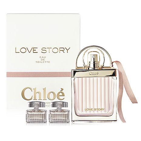 Chloe Love Story 愛情故事晨曦女性淡香水 75ml+chloe 同名淡香精 5ml×2