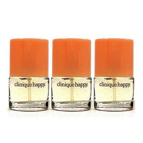 Clinique Happy 倩碧快樂女性淡香水 4ml×3-美妝‧保養‧香氛‧精品-myfone購物