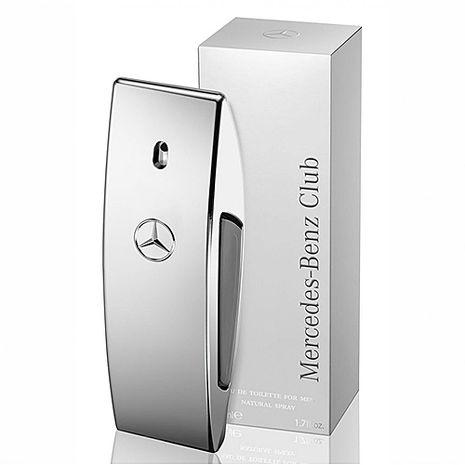 Mercedes Benz 銀色風潮男性淡香水 100ml