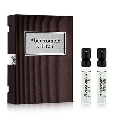 Abercrombie&Fitch A&F First Instinct 同名經典男性淡香水針管2ml x2【特賣】