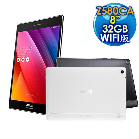 ASUS 華碩 ZenPad S 8.0 4G/32G Z3580 WIFI版 (Z580CA) 8吋 4核平板電腦白色
