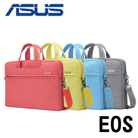 ASUS 華碩原廠12吋 EOS SHOULDER BAG 時尚風潮電腦手提包【藍/紅/灰】灰色