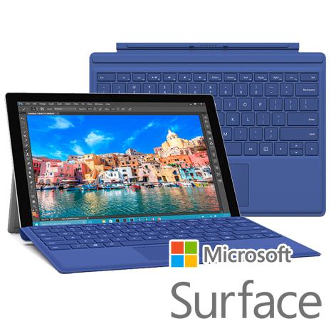 【原廠】Microsoft 微軟 Surface Pro 4 鍵盤 (CM-SP4) -藍色