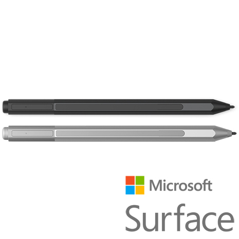 【原廠】Microsoft 微軟 Surface Pro 4 手寫筆 (黑/銀)銀色