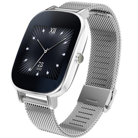 【拆封福利品A級】ASUS 華碩 ZenWatch 2 WI502Q 智慧手錶 【優雅銀鍊/小錶】