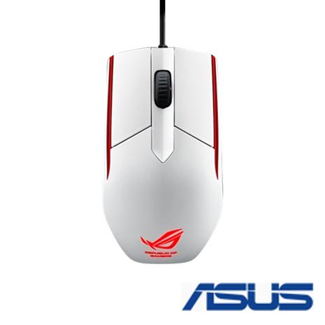 ASUS 華碩 ROG Sica 電競滑鼠 (白色)