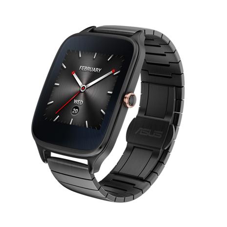 ASUS 華碩 ZenWatch 2 WI501Q(BQC) 快充進化版智慧手錶 【金屬紳士黑/大錶】