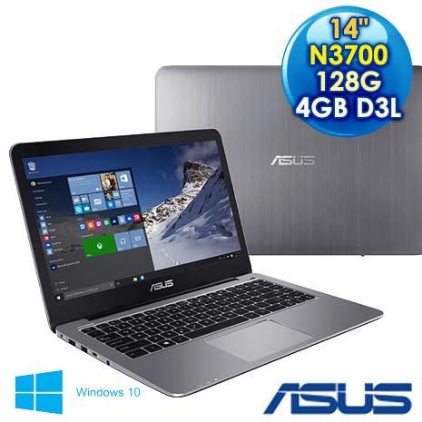 【福利品】ASUS 華碩 E403SA-0053AN3700 (NN3700/14F/4G3L/128G/W10) 金屬灰 輕薄筆電