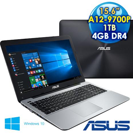 【瘋狂特殺】ASUS 華碩 X555QG-0021B9700P (A12-9700P/15.6FHD/4GD4/1TB/DL/W10) 2G獨顯效能筆電