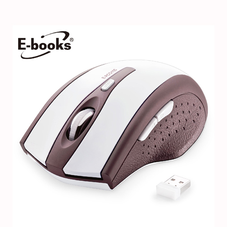 E-books M20 六鍵式省電無線滑鼠