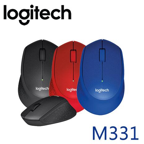 Logitech 羅技 M331 無線靜音滑鼠