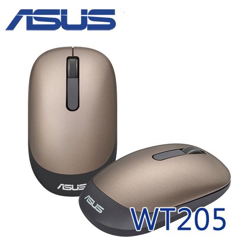 ASUS 華碩 WT205 奢華時尚無線光學滑鼠