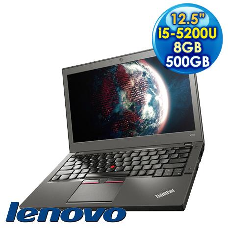 Lenovo 聯想 ThinkPad X250 (i5-5200U/12.5/8GD3/500G/W7P) 商用筆電