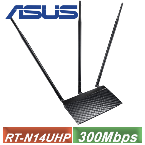 【ASUS 華碩】 RT-N14UHP 無線路由器