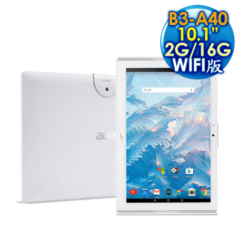 Acer 宏碁 Iconia One 10 B3-A40 2G/16GB WIFI版 10.1吋 平板電腦