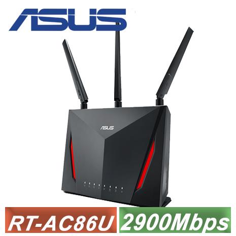 【ASUS 華碩】RT-AC86U 雙頻無線路由器