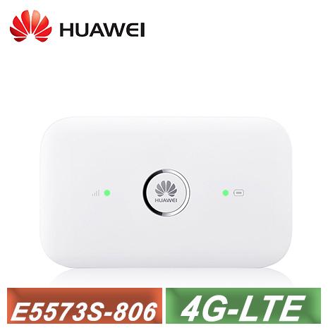 【Huawei 華為】 4G 行動網路 WiFi分享器 E5573s-806