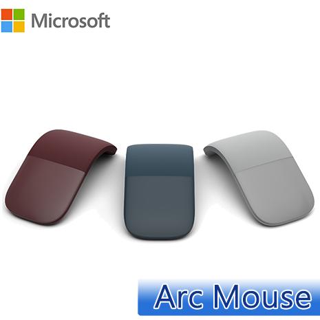 Microsoft 微軟 Surface Arc Mouse 藍牙滑鼠淺灰色