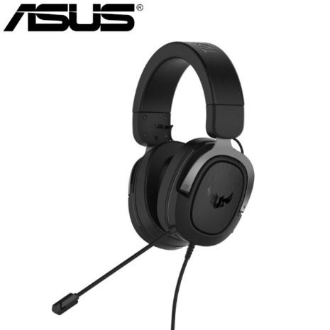 ASUS 華碩 TUF GAMING H3 電競耳機-槍灰色
