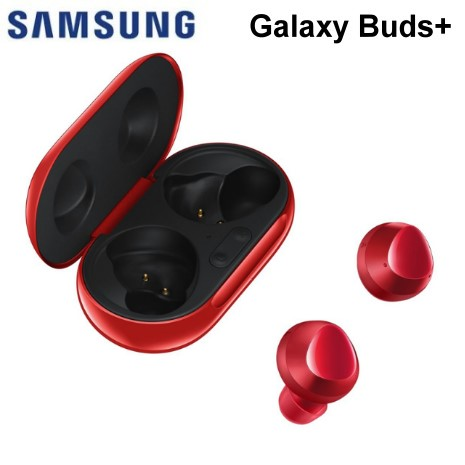 Samsung Galaxy Buds+ 藍牙耳機 (Galaxy Buds plus)- 紅色