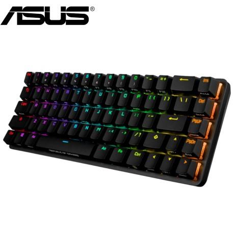 華碩 ASUS ROG Falchion 65% 無線電競鍵盤-茶軸