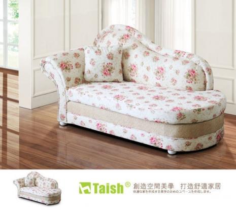 【TAISH】花漾古典貴妃坐躺椅(左右型可選)左型