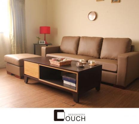 【COUCH】 東京都L型獨立筒皮沙發
