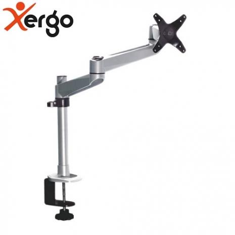 Xergo 鑽石系雙延伸臂螢幕支架(夾桌型)-EM33116