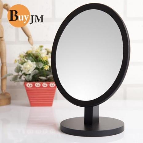 《BuyJM》圓型可調式實木桌上鏡