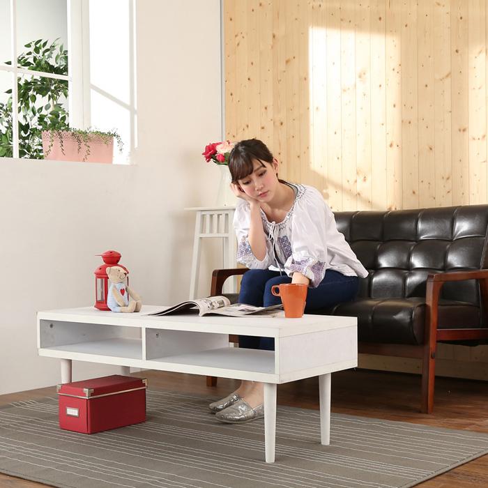 《BuyJM》環保低甲醛厚板電視櫃(寬105CM)/茶几胡桃色