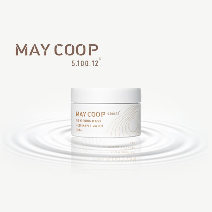 【韓國MAYCOOP】自然楓樹液睡眠緊致凍膜100ml(海洋膠原蛋白 海藻精華 玻尿酸)