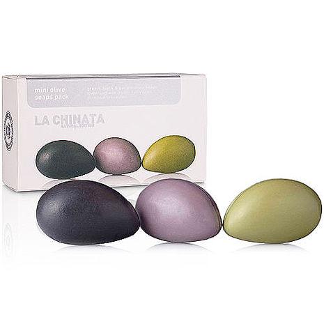 【LA CHINATA 希那塔】純淨天然橄欖精華果皂 (迷你3件組)