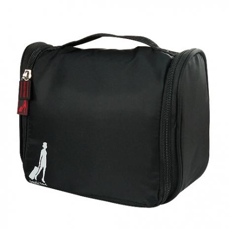 《旅行玩家》收納盥洗包經典黑