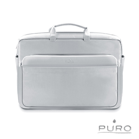【PURO】17吋Apple MacBook Air/Pro 典雅風格電腦保護包-灰-3C電腦週邊-myfone購物
